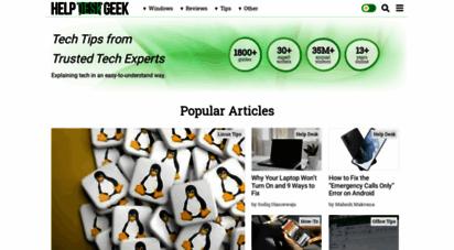helpdeskgeek.com - help desk geek - help desk tips for it pros