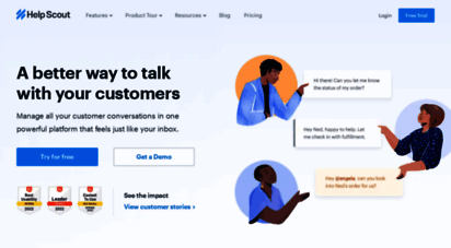 helpscout.com - help scout  simple customer service software and education