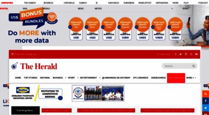 herald.co.zw - the herald  zimbabwe´s largest daily newspaper