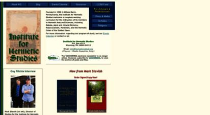 hermeticinstitute.org - institute for hermetic studies