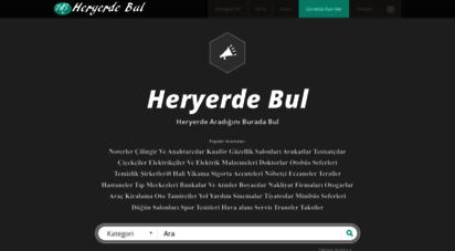 heryerdebul.com - heryerde aradığınızı burada bulun  www.heryerdebul.com