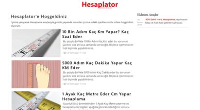 hesaplator.com
