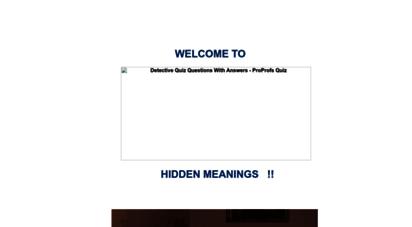 hiddenmeanings.com
