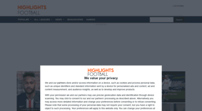 highlightsfootball.com - highlightsfootball - latest football highlights and live scores