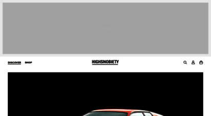 Welcome to Highsnobiety | Online