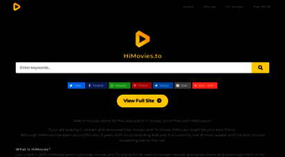 himovies.to - himovies.to  watch movies online, stream tv shows online free