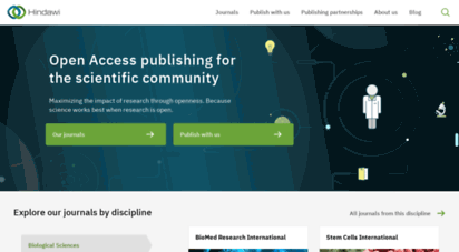 hindawi.com - publishing open access research journals & papers  hindawi