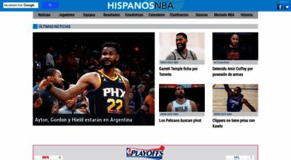hispanosnba.com - hispanosnba: noticias y estadísticas de la nba