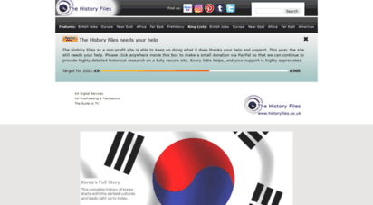 historyfiles.co.uk - the history files