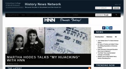 historynewsnetwork.org - history news network