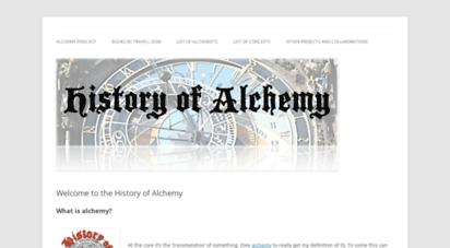 historyofalchemy.com