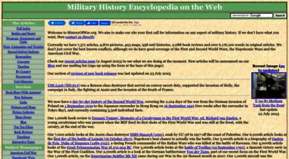 historyofwar.org - military history encyclopedia on the web