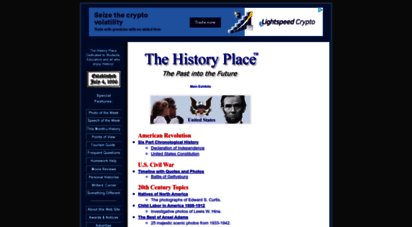 historyplace.com - the history place