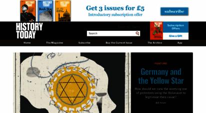 historytoday.com - history today  the world´s leading serious history magazine