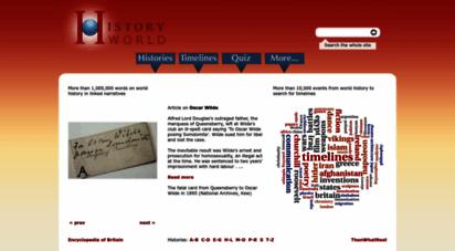historyworld.net - historyworld - history and timelines