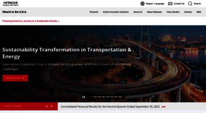 similar web sites like hitachi-america.us
