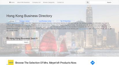 hkgbusiness.com - hong kong business directory - search hong kong registered companies