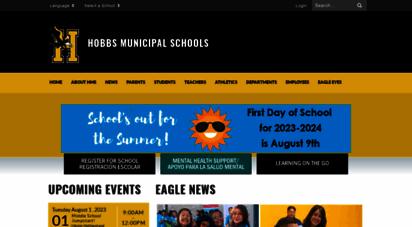 hobbsschools.net - hobbs municipal schools