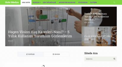 hobimedya.com - türkiye hobi merkezi - evcil hayvan besleme - gezip görme yerleri - soru cevaplar