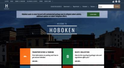 hobokennj.gov - hoboken nj website