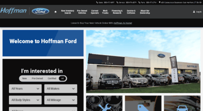 Ford Dealers In Ct >> Welcome To Hoffmanfordct Com East Hartford Hoffman Ford