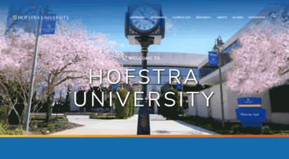 hofstra.edu - hofstra university  long island, new york