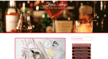 holidailys.com - holidays: visit holidailys - because every day is a holiday