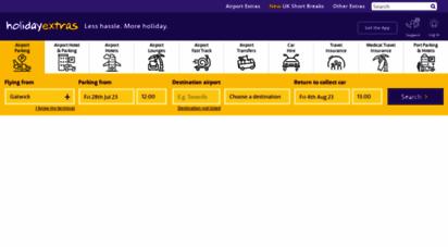 similar web sites like holidayextras.co.uk