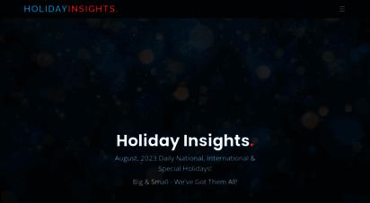 holidayinsights.com