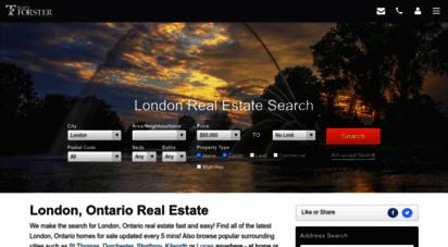 homesinlondonontario.ca - search london ontario real estate  best homes for sale - mls® listings