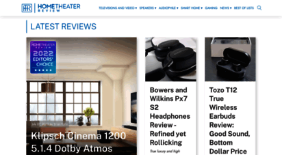 hometheaterreview.com - your resource for reviews on ultrahd, 4k video, oled, soundbars, blu-ray players, av receivers, audiophile speakers, music in high resolution and more...