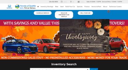 Honda Of Seattle >> Welcome To Hondaofseattle Com Honda Dealer In Seattle