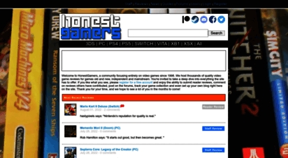 honestgamers.com - honestgamers - celebrating new, retro and indie video games for consoles, handhelds and pc!