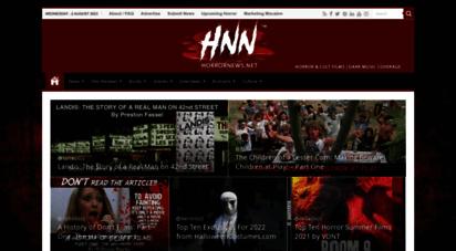 horrornews.net - hnn  horrornews.net - horror movies, reviews, news, & views