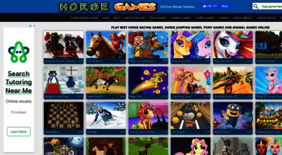 horse-games.org - horse games - pony games - free online horse games
