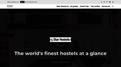 hostelgeeks.com - the best hostels in the world: 5 star hostels by hostelgeeks - 2020