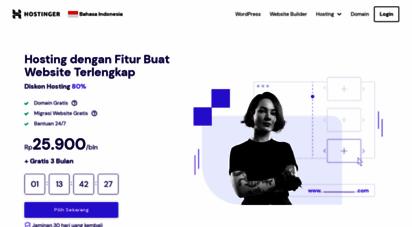 hostinger.co.id - hostinger: web hosting terbaik dan berkualitas