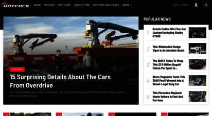 hotcars.com - hotcars - the world´s most entertaining car site