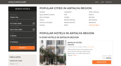 hotels-antalya.net -