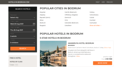 hotels-in-bodrum.com - bodrum hotels & apartments, all accommodations in bodrum