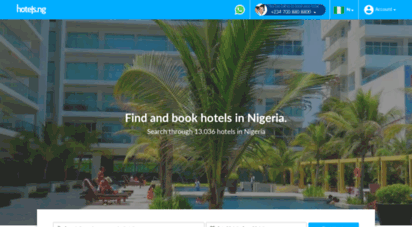 hotels.ng - hotels.ng: book the best hotels in nigeria
