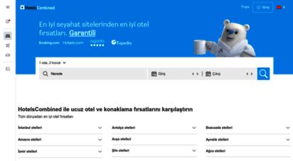 hotelscombined.com.tr - otel fiyatlarını karşılaştırın - en ucuz rezervasyon garantisi