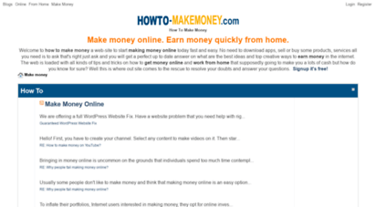 howto-makemoney.com - make money online fast and easy. get it for free!