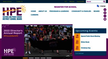 hpedsb.on.ca - hpedsb: homepage