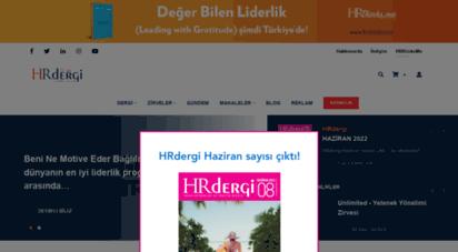 hrdergi.com - insan kaynakları ve yönetim dergisi - hrdergi