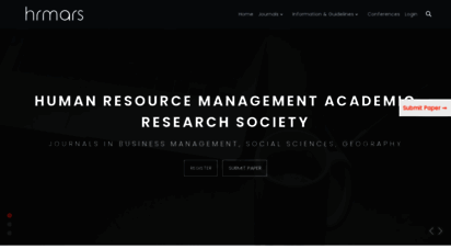 hrmars.com - human resource management academic research society