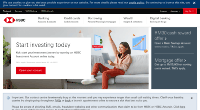 hsbc.com.my - hsbc malaysia - credit cards, deposits, loans