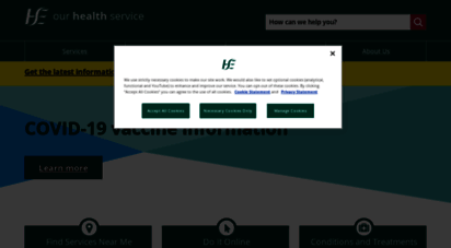 hse.ie - ireland´s health services - hse.ie