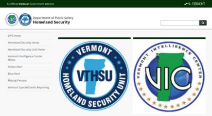 hsu.vermont.gov - welcome to the vermont department of public safety homeland security unit´s web site  vermont homeland security