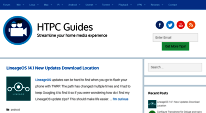 htpcguides.com - htpc guides • streamline your home media experience